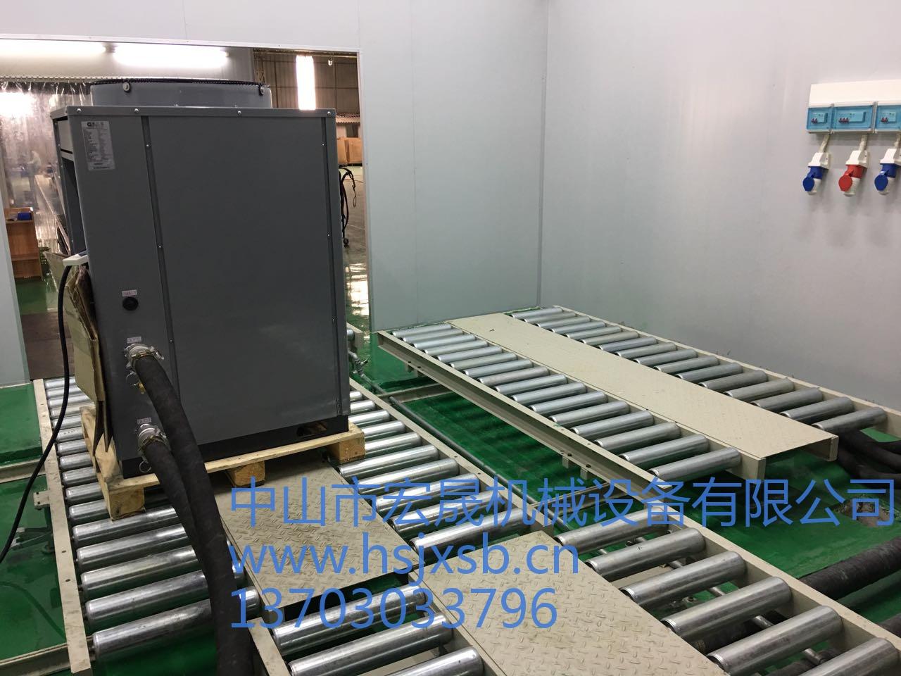商用热泵生产线
