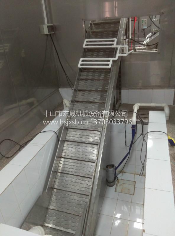 不锈钢链板输送线